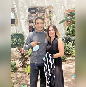Edward Garcia, recipient of a life-saving kidney transplant, gives credit to his sister-in-law, Samantha Garza, who donated a kidney through the Kidney Exchange Program. COURTESY PHOTO